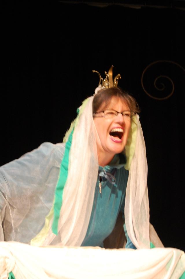 Queenie frog princess