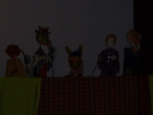 Tony Gees group puppets